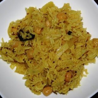 Chana Pulao (Chickpea Rice)