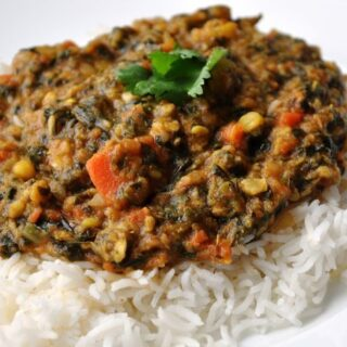 Sai Bhaji (A Classic Sindhi Dish with Spinach & Vegetables)
