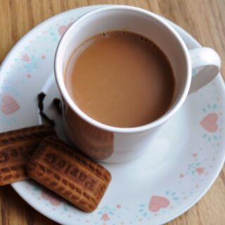"""Got allergies/cough/cold?  Try """"Indian Ginger Tea"""" (Adrakh wali Chai)"""
