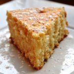 Lemon Butter Cake (REDUCED FAT & 181 Calories)