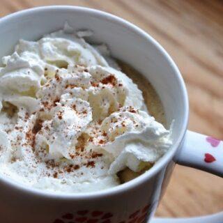 Low Fat Pumpkin Spice Latte… Inspired by Starbucks!