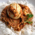 My delectable… Punjabi Egg Curry… in a rich & brown gravy!