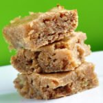 Gooey & Delicious Banana Blondies (Reduced Fat & 139 Calories)