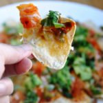 The Buffalo Veggie Nachos… the Ultimate Super Bowl Treat!