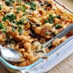 Black Beans Enchilada Pasta… Oh Yeah!