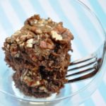 Sinfully Sensational… Salted Caramel Pecan Brownies (Reduced Fat & 243 Calories)
