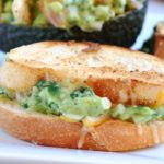 Grilled Cheese Guacamole Sliders & A Super Bowl Partay!