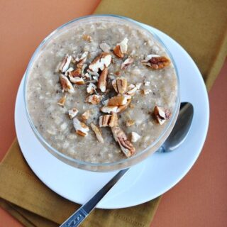 Apple Pecan Pie Oatmeal