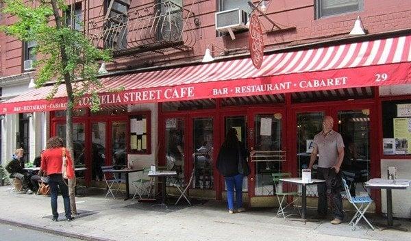 Cornelia St Cafe Menu