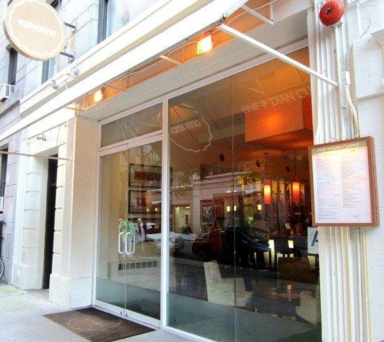 Tamarind Restaurant New York Menu