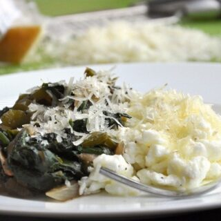 Egg White Grilled Veggies with Manchego Cheese… inspiration from Mexico