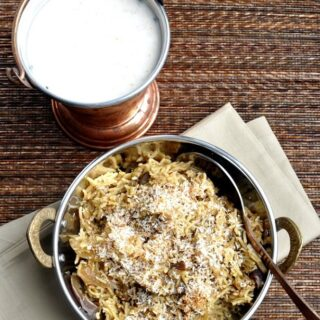 Brinjal Coconut Pulao (Eggplant Coconut Rice w/spices)