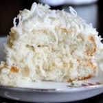 Southern Coconut Cake w/Coconut Cream Cheese Frosting & Christmas 2013!
