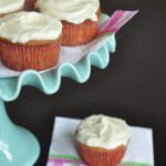 Banana Cupcakes w/Cream Cheese frosting & a Baby Shower!