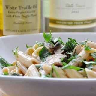 Penne Funghi Tartufo… inspired by Fig & Olive