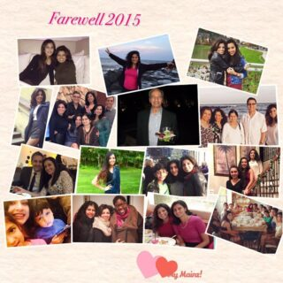 Farewell 2015 & Happy New Year!