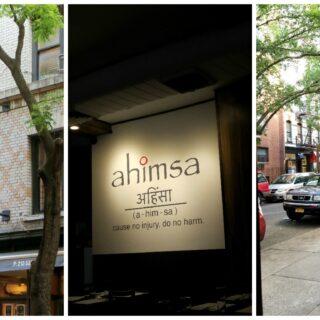 Affordable Indian: Ahimsa | NYC