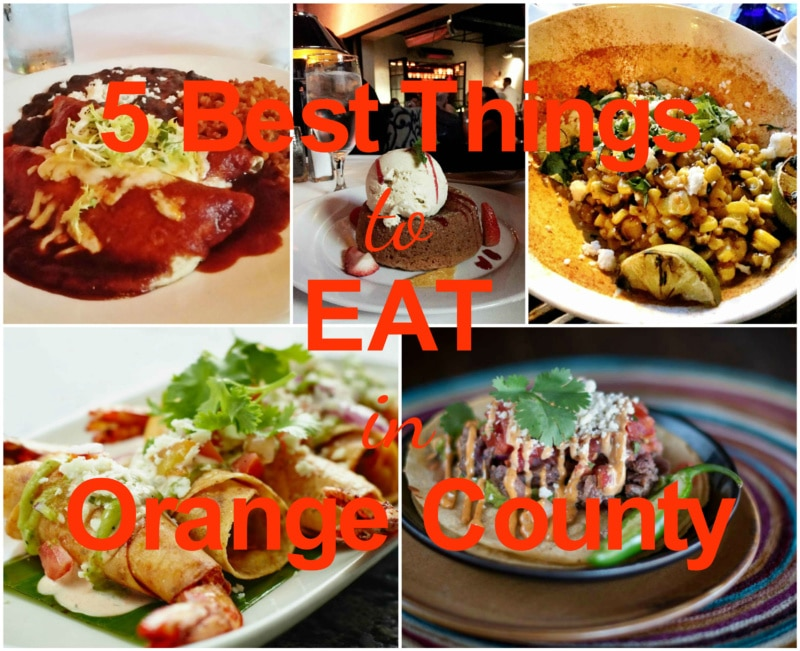 5 Best Things To Eat In Orange County 2016