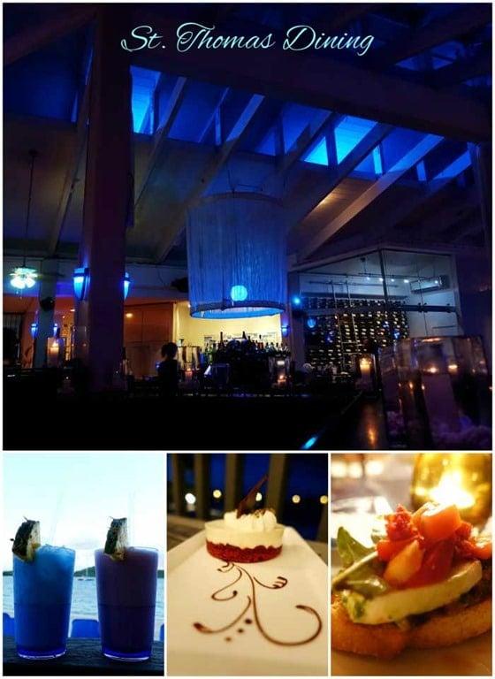 Island View Restaurant St Thomas Menu