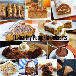 11 Healthy & Delicious Pumpkin Desserts
