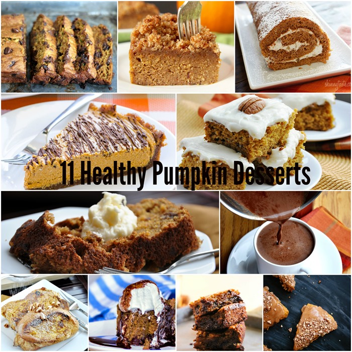 11 Healthy Pumpkin Desserts
