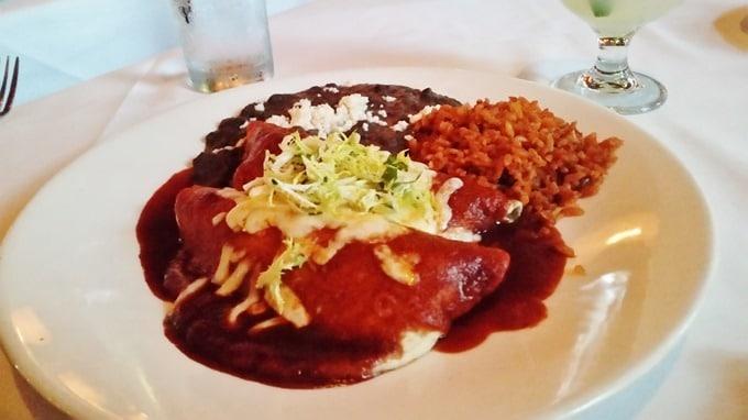 Braised Short RIb Enchiladas - Red O, Newport Beach