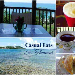 Casual & Reasonable EATS in St. Thomas USVI