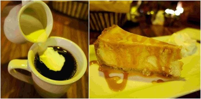 Coffee & Dulce de Leche Cheesecake - Viva Cantina, St. John