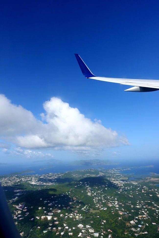 Leaving St. Thomas, USVI