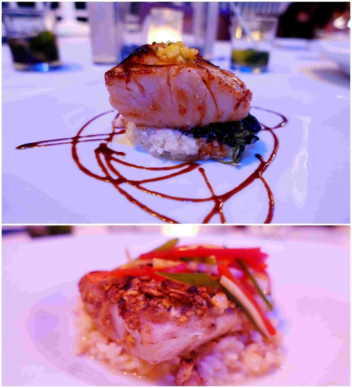 Entrees - Havana Blue, Marriott Frenchmen's Reef St. Thomas