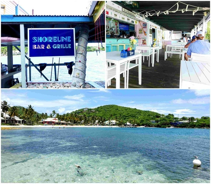Shoreline Bar & Grille, St. Thomas USVI