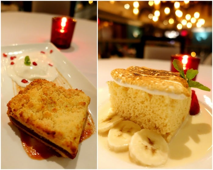 Guava Crumb Cake, Tres Leches - Victor's Cafe