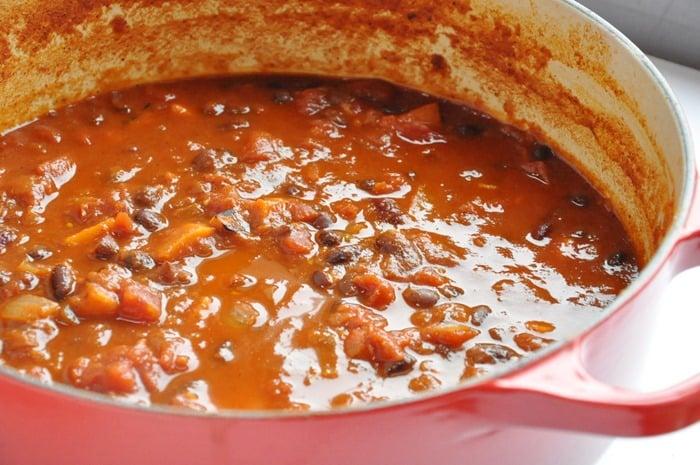Sweet Potato Bean Chili (5)