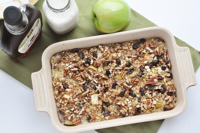 Apple Pie Baked Oatmeal (2)