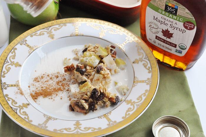Apple Pie Baked Oatmeal (35)