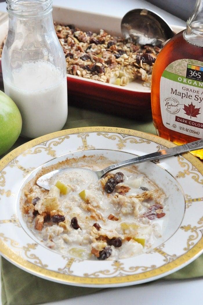 Apple Pie Baked Oatmeal (65)