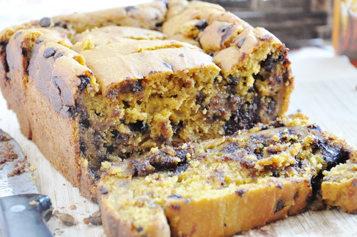 Pumpkin Chocolate Chip Bread (106)