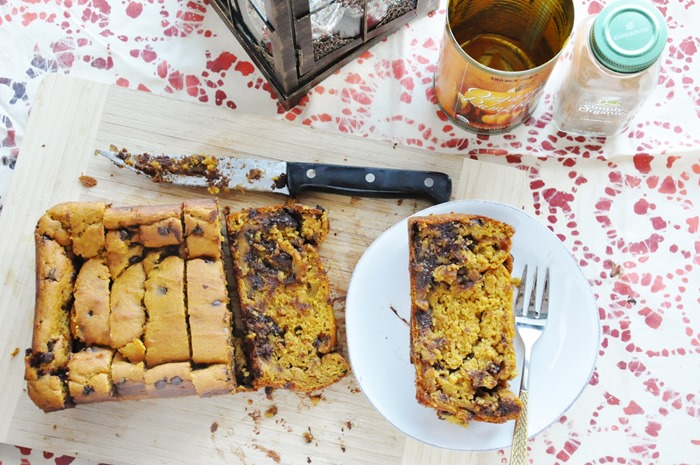 Pumpkin Chocolate Chip Bread (63)
