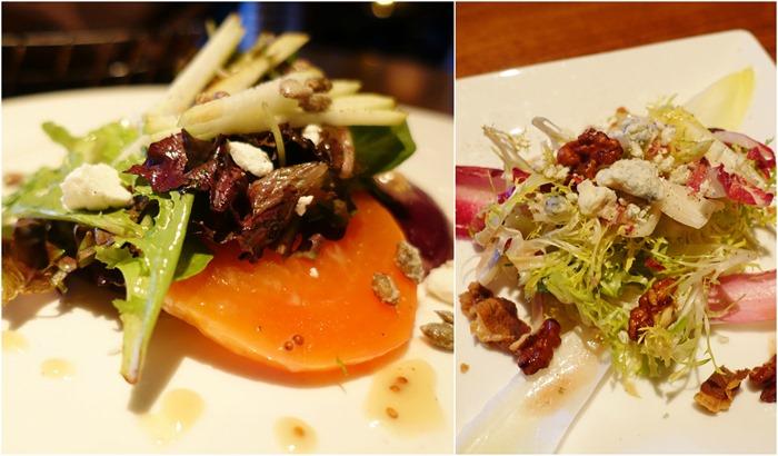 Autumn Beet Salad, Belgian Endive Salad - The Barrymore, Las Vegas