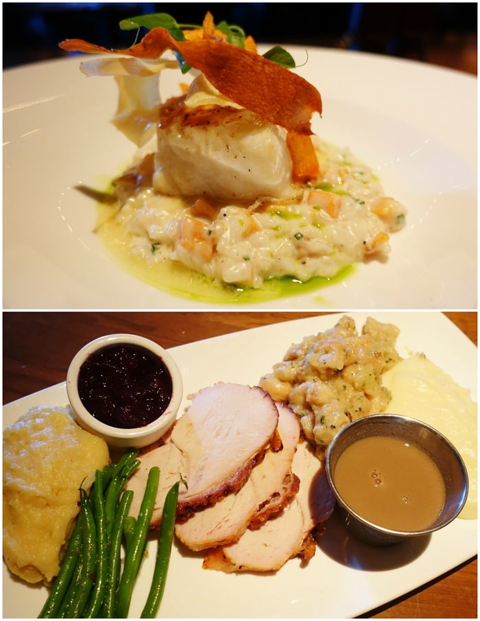 Chilean Sea Bass, Thanksgiving Meal - The Barrymore, Las Vegas