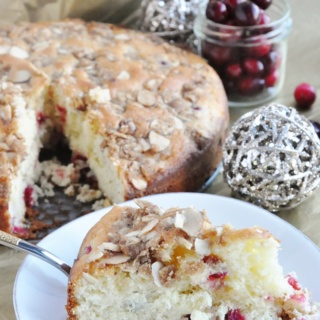 Cranberry Almond Coffee Cake… Farewell 2016