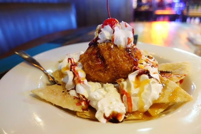 Deep Fried Ice-Cream - Nacho Daddy, Las Vegas