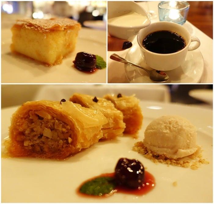 Desserts, Coffee - Estiatorio Milos Las Vegas