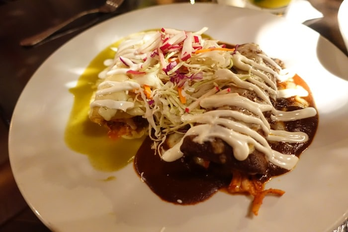 Mole Enchiladas - Tortilla Republic, Laguna Beach, CA