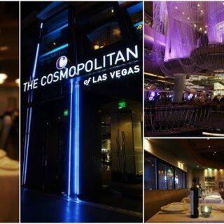 The Cosmopolitan. Upscale Dining at STK & Estiatorio Milos | Las Vegas Part 1