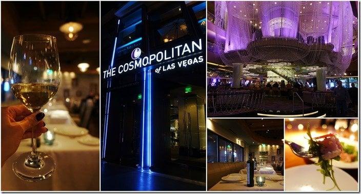 The Cosmopolitan, STK, Estiatorio Milos - Las Vegas