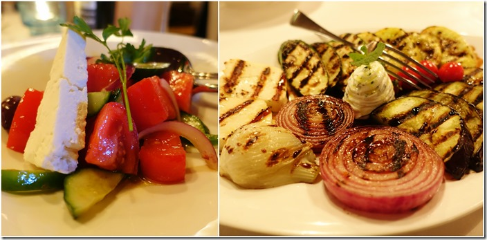 The Greek Salad, Grilled Vegetables - Estiatorio Milos Las Vegas