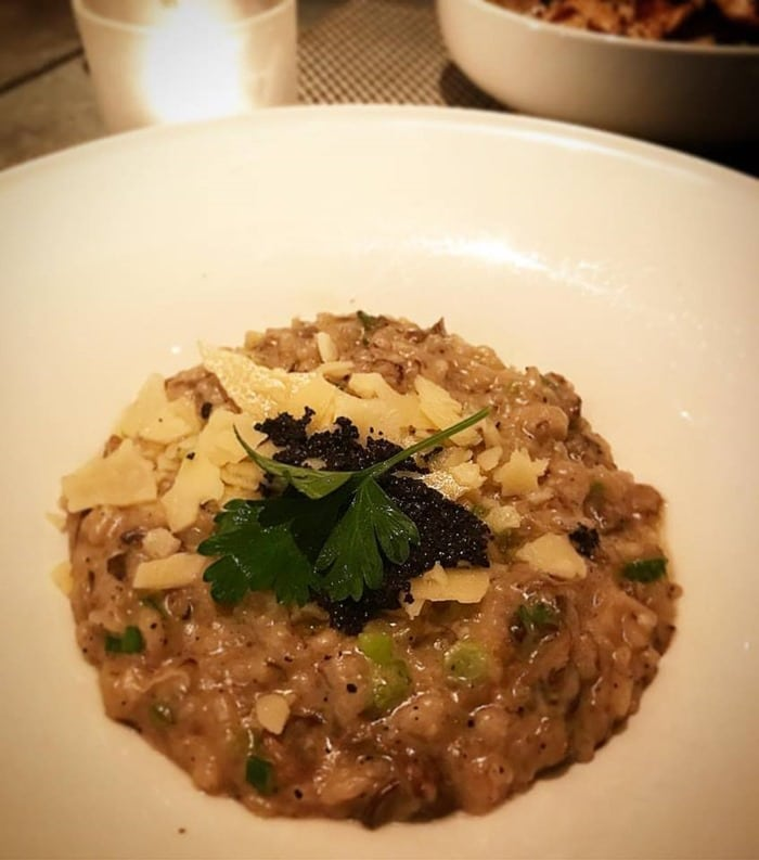 Truffle Risotto - Fig & Olive