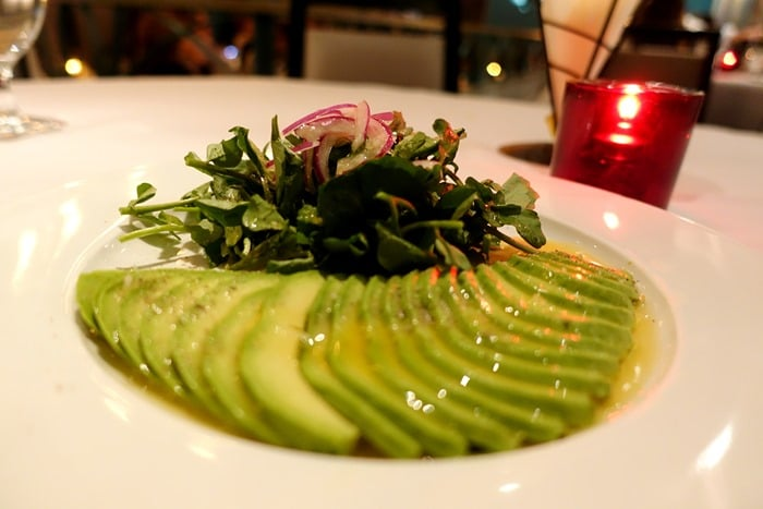 Watercress Avocado Salad - Victor's Cafe, New York City