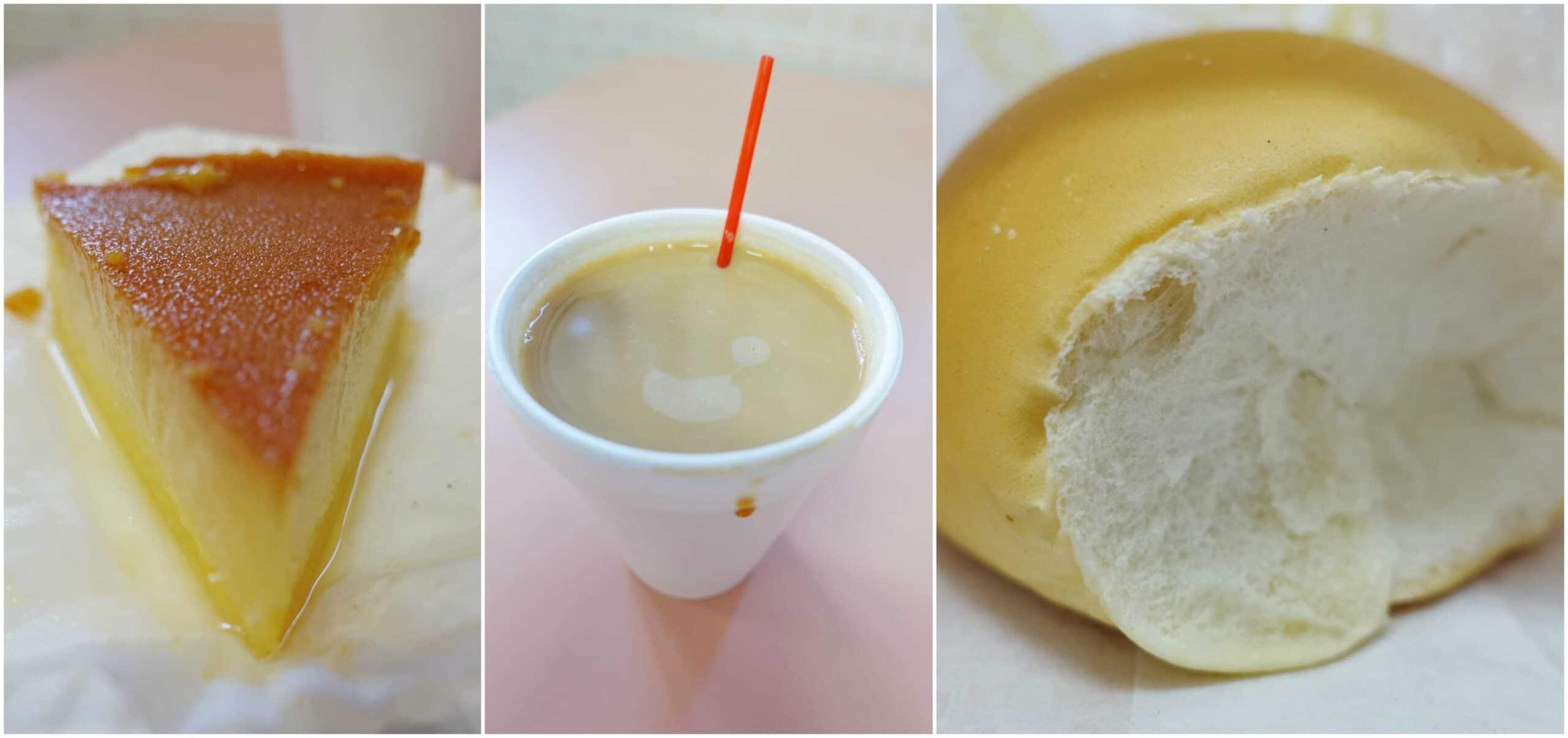 Vanilla Flan, Sweet Bread - La Familia Bakery 2, Rio Grande, Puerto Rico
